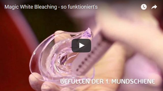 Neu: Zahnbleaching
