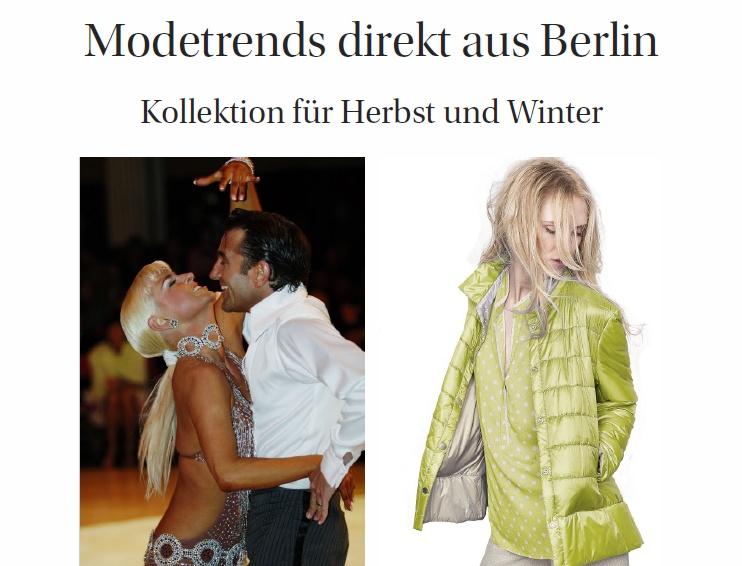 Modetrends direkt aus Berlin