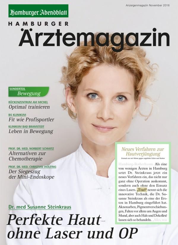 Tixel Bericht im Hamburger Ärztemagazin
