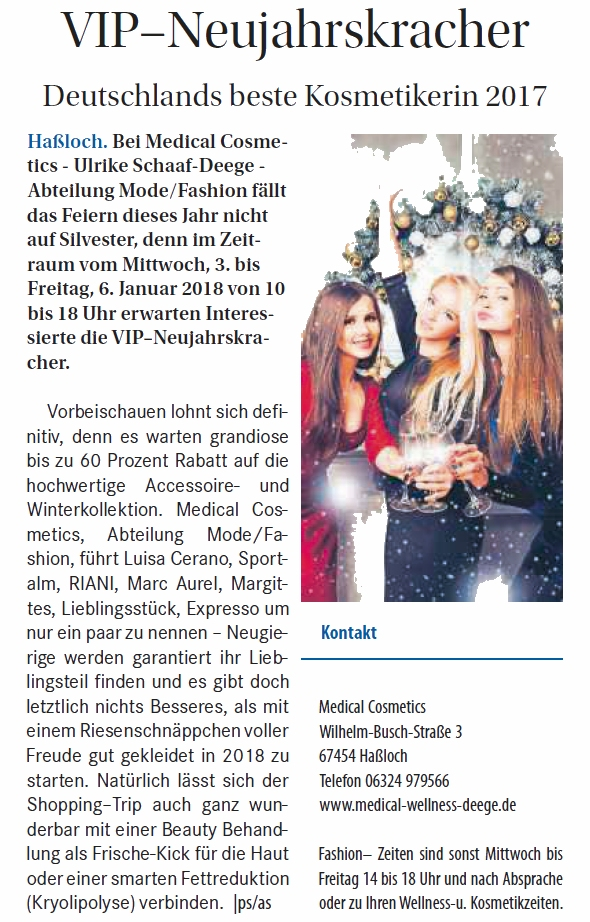 VIP-Neujahrskracher